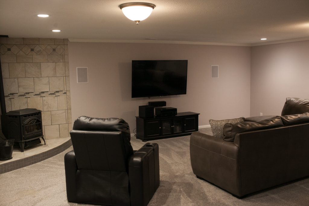 Basement Finish In Wichita, KS