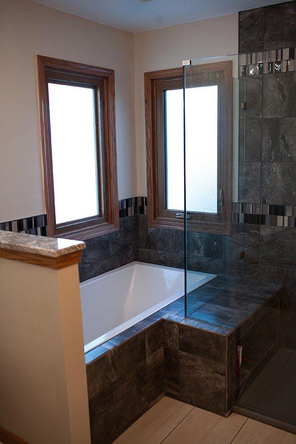 Bathroom Remodel In Wichita KS Pinnacle Homes Inc Simple Bathroom Remodeling Wichita Ks