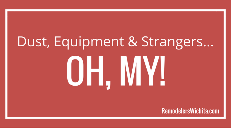 Dust, Equipment and Strangers…Oh, My!