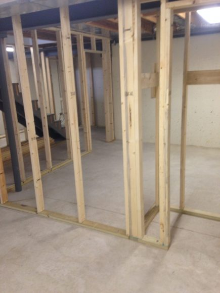 Basement Remodeling project in Andover, KS