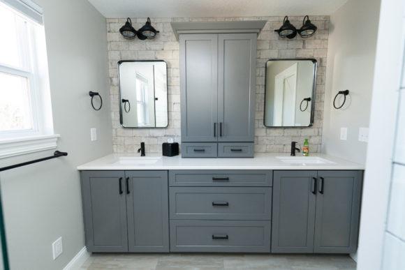 Master bath vanity Wichita KS