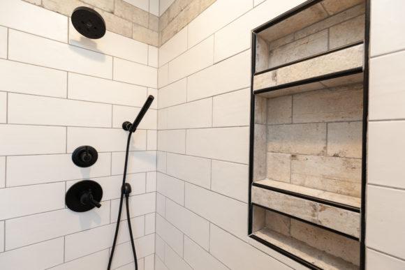 shower niche remodel