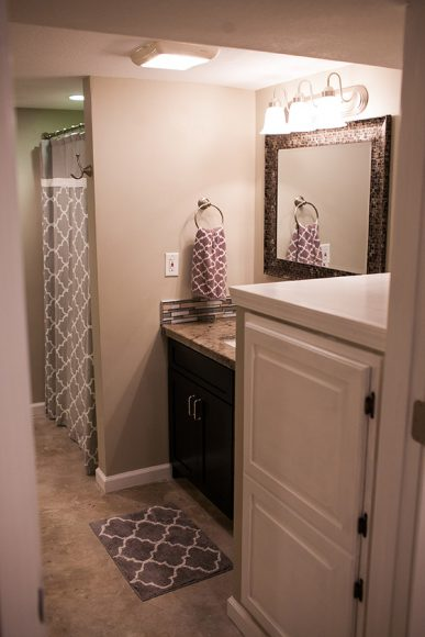 Basement Finish Bathroom in Bel Aire KS