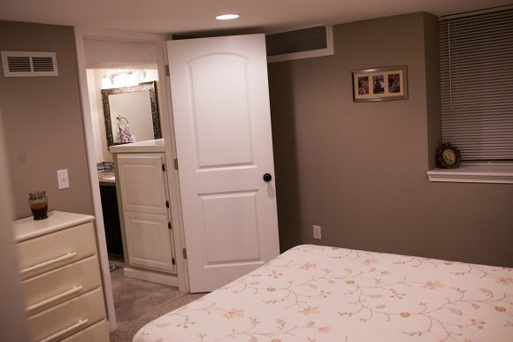 Basement Finish Bedroom in Bel Aire KS
