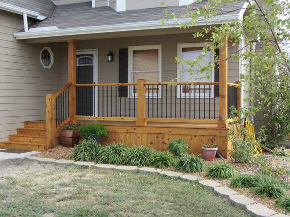 Cedar Front Porch Andover KS
