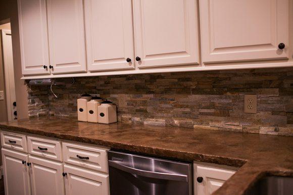 Kitchen Remodel in Bel Aire KS Concrete Countertop