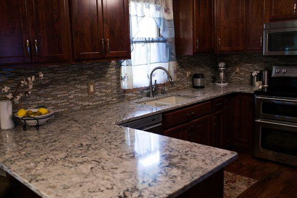 Kitchen Remodel near Wichita KS Cambria Quartz countertop