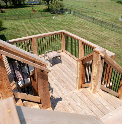 Cedar Deck in Andover, KS