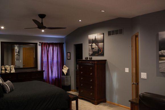 Custom Ceiling - Master Bedroom Remodel in Bel Aire, KS