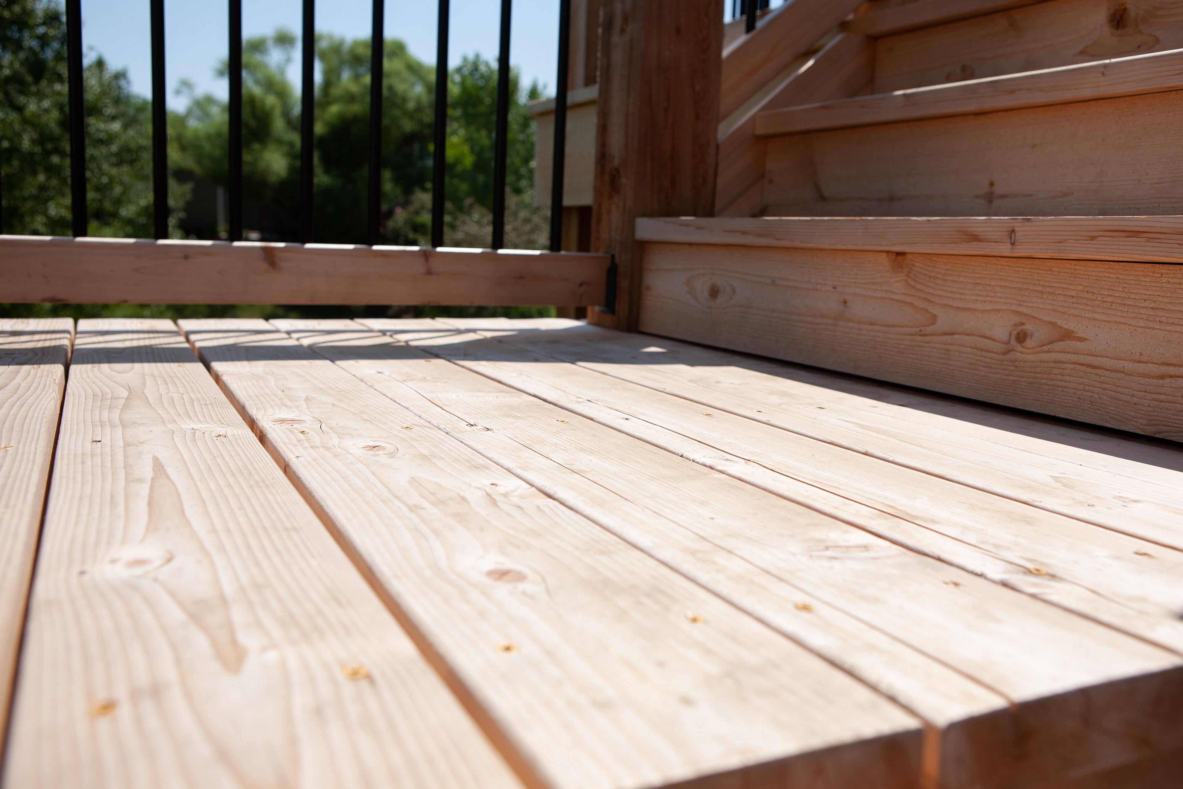 Cedar Decking in Andover, KS