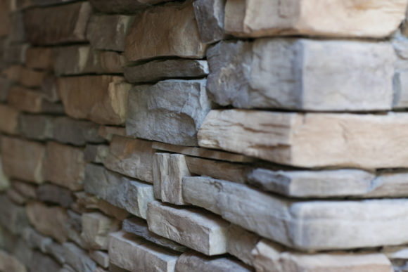 custom stacked stone