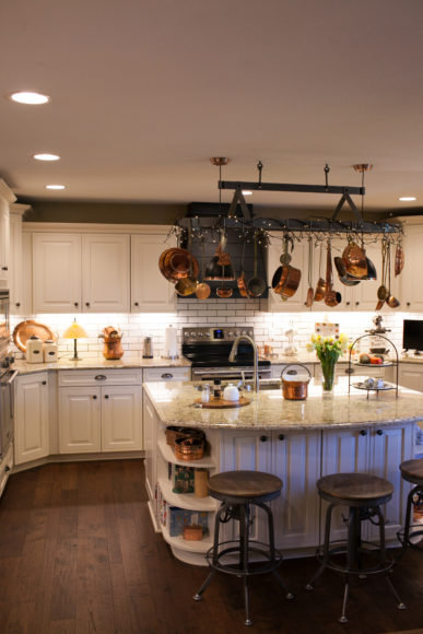 farmhouse style kitchen addition