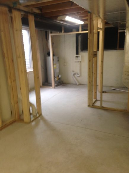 Basement Remodeling in Derby