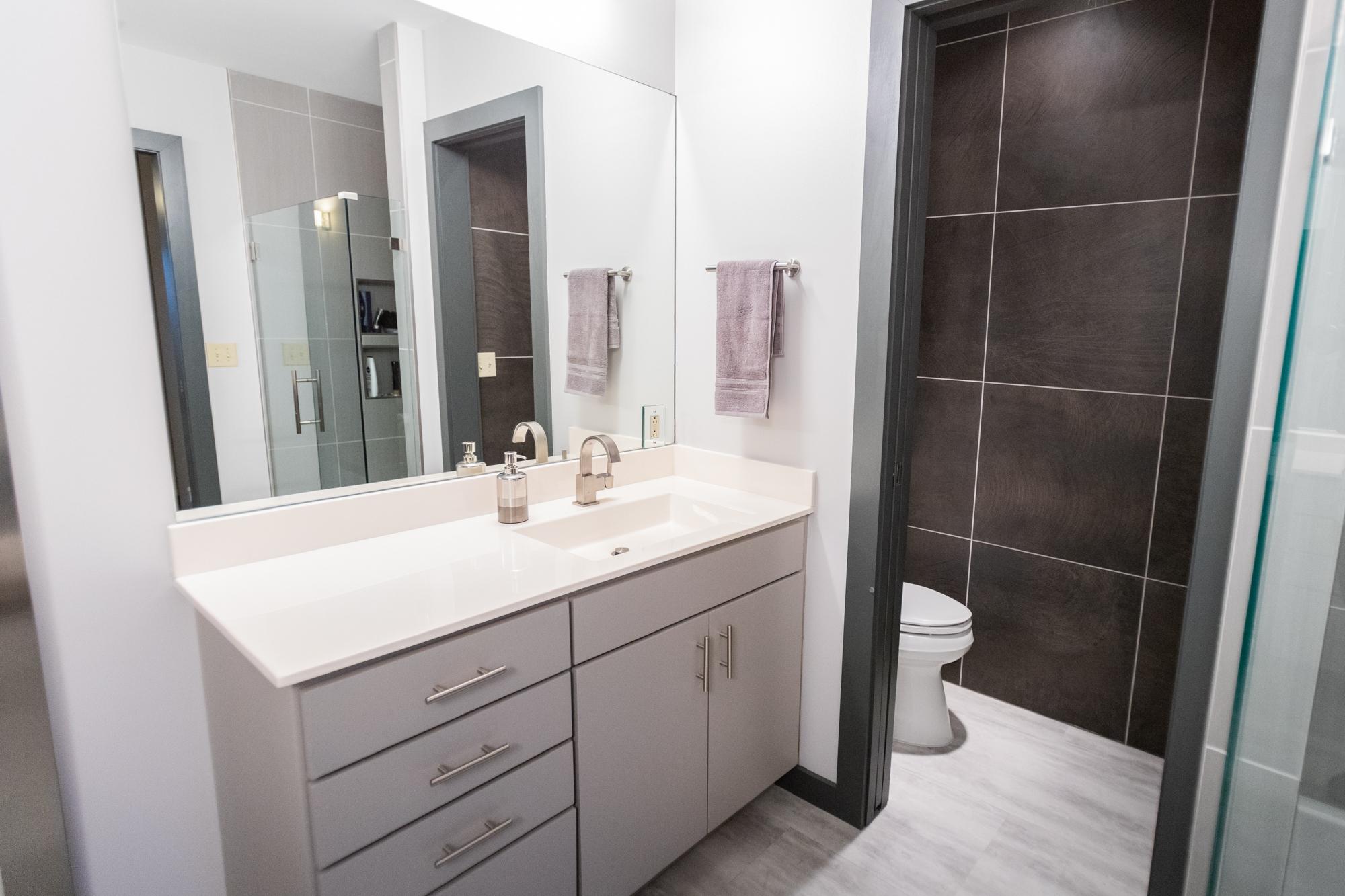 bathroom remodel in Wichita, KS - Pinnacle Homes, Inc.