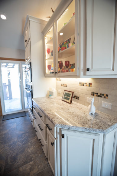 custom cabinetry in Kitchen reno