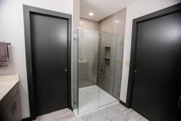 bath remodel Wichita custom shower in Wichita