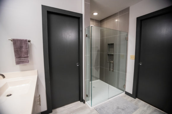 bath remodel Wichita custom walk in shower