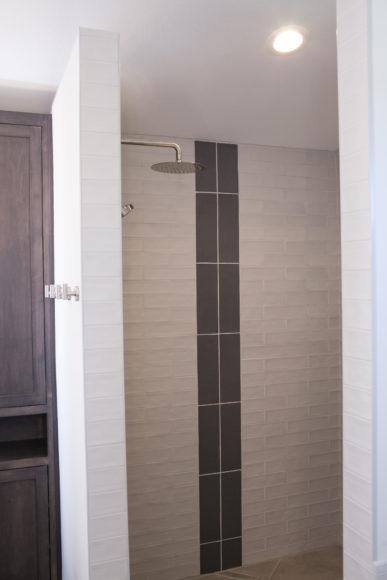 walk-in custom shower in Wichita, KS