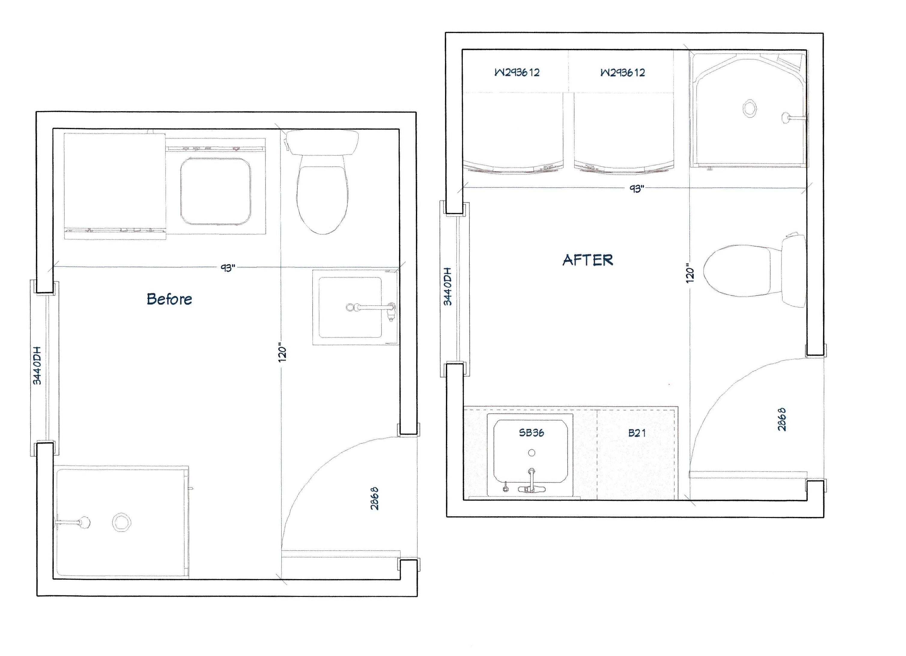 Bel Aire Bathroom Layout Pinnacle Homes Inc