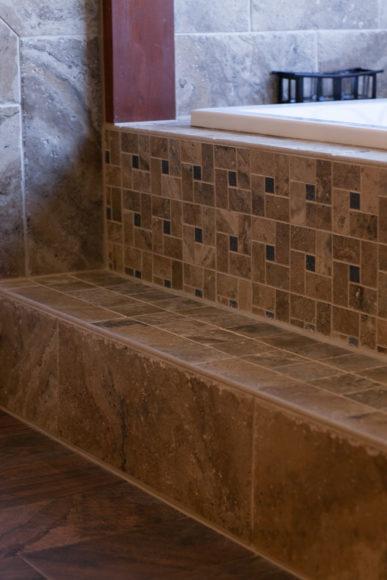 decorative tile bathroom remodel Wichita KS