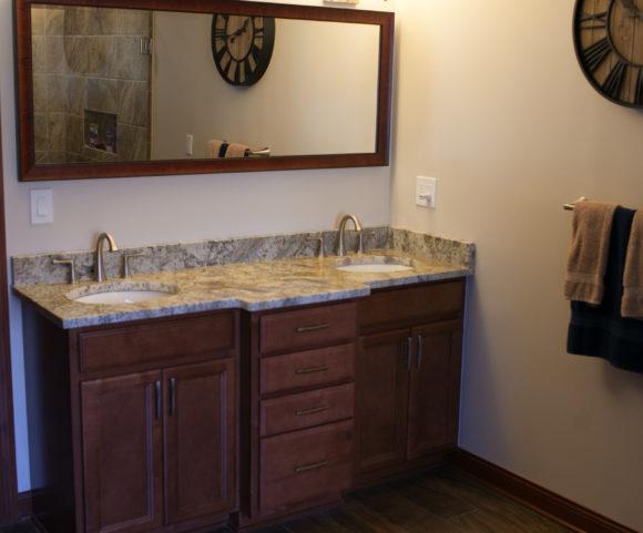 double sink vanity Wichita, KS