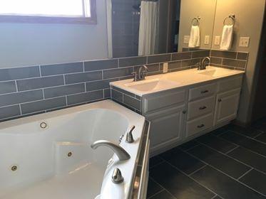 tile back splash in Wichita KS area