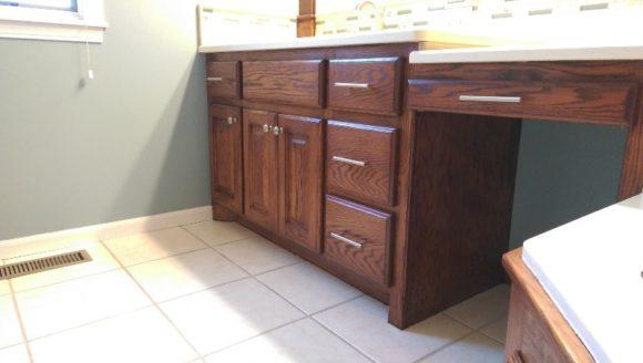 cabinet refinishing Wichita
