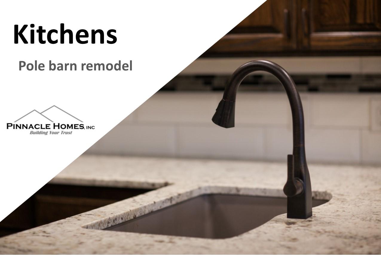 Kitchen Remodel–Pole Barn Remodel (video)