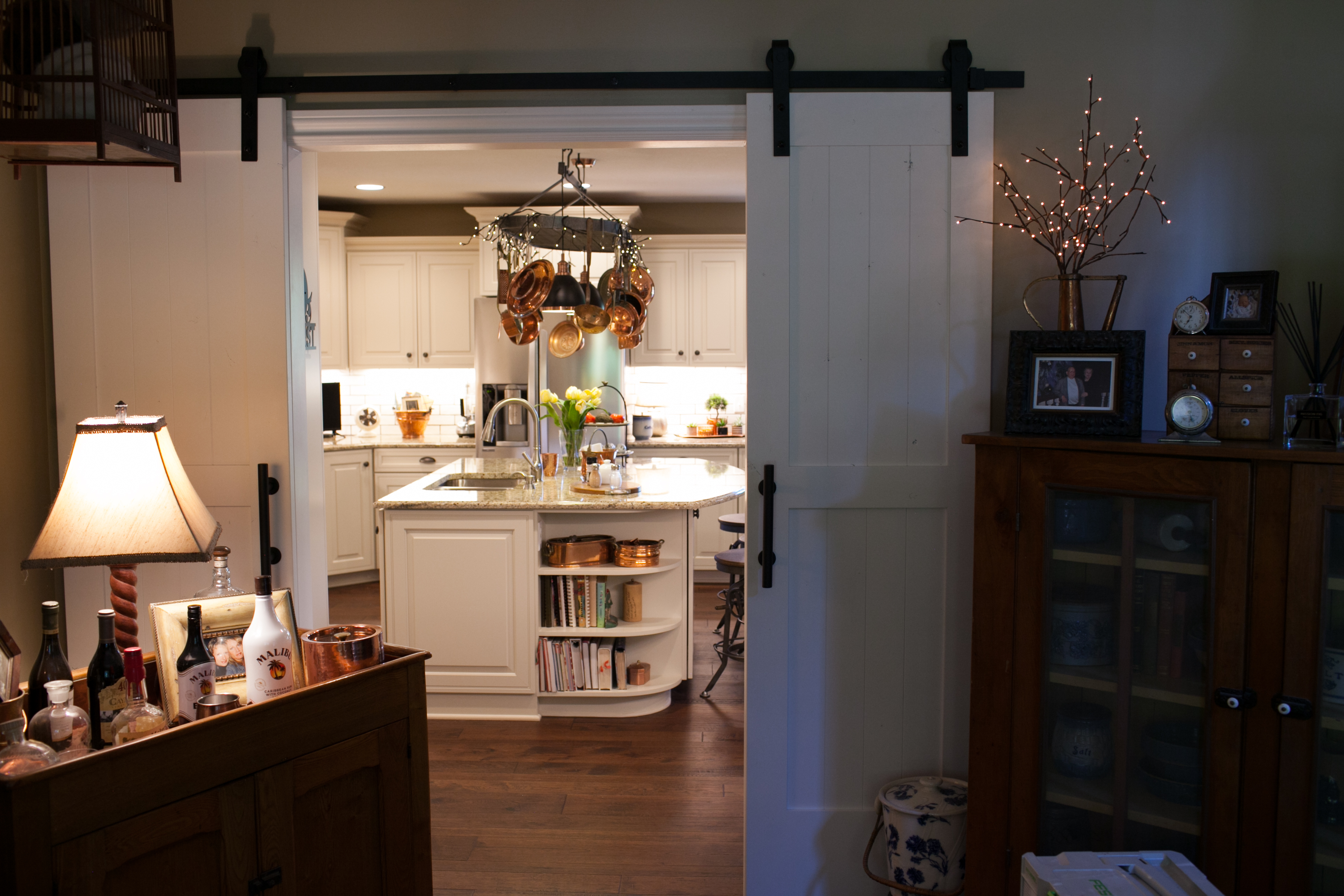 Whole Home Remodel with Barn Doors to Kitchen