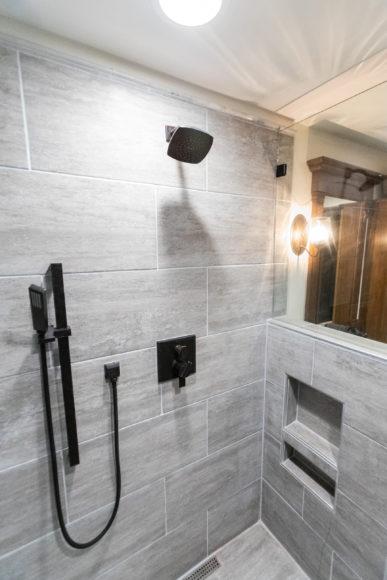 Custom walk-in shower in Wichita area