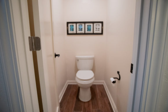 water closet in Eastborough master bath addition